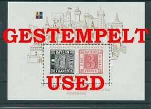 Germany-Federal-Frg-vintage-yearset-1999-Block-46-Postmarked-Used-More-Sh-Shop