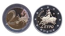 Proof 2012 Greece 2 Euro Coin 2,500 Mintage