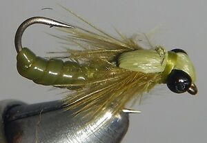 Jointed Golden Stonefly Size 10 WIGGLE BUG!