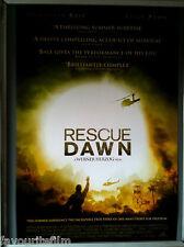 Cinema Poster: RESCUE DAWN 2007 (US V2 One Sheet) Christian Bale Werner Herzog