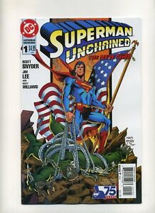 SUPERMAN UNCHAINED #1  1//25 75th ANNIVERSARY VARIANT MODERN AGE COVER NM//M
