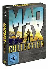 MAD MAX 1-4 ANTHOLOGIE BLU RAY COLLECTION 1+ 2+ 3 + FURY ROAD DEUTSCH UNCUT