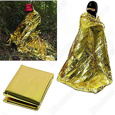Good Tool Waterproof Emergency Survival Foil Thermal First Aid Rescue Blanket