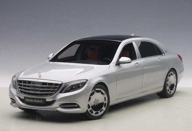 Autoart Mercedes Benz Maybach Classe S S600 argent 1 18  objet neuf