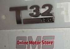 Volkswagen Transporter T5 + T6 - T32 180ps badge -  BRAND NEW - GENUINE VW PART