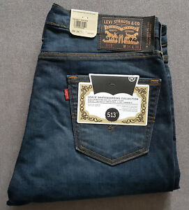 Details zu Herren Jeans LEVIS LEVI´S 513 Slim Straight Fit Skateboarding Collection Emb