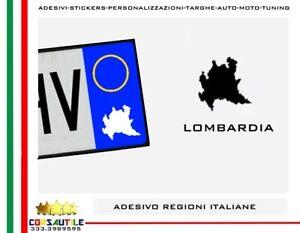 2X-ADESIVO-REGIONI-ITALIANE-STICKER-per-AUTO-MOTO-TARGA-PRESPAZIATO-VINILE-FORMA