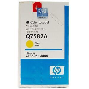 Original-Hp-Toner-Q7582A-503A-Yellow-CP3505-3800-New-A-Grade