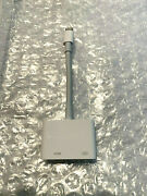 Apple Lightning to Digital AV HDMI Adapter for iPhone iPad MD826AM/A - Open Box