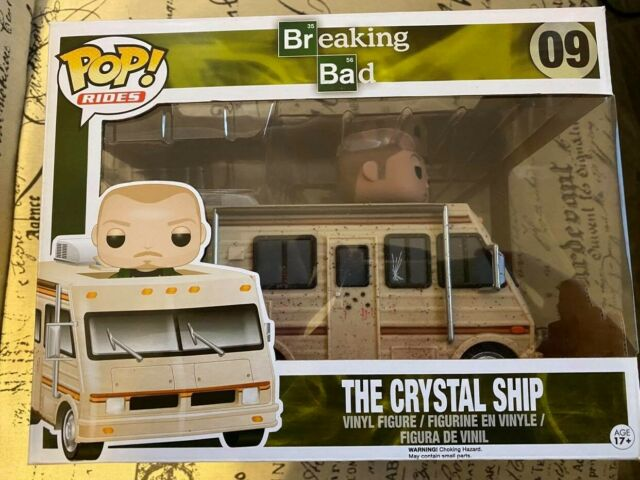 The Crystal Ship Funko VAULTED Breaking Bad New Pop Rides