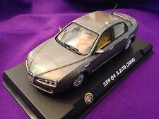 Rare 1/43 Alfa Romeo 159 Q4 3.2 TS Sedan Silver RCS Libri Milan Italy