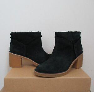 b73cfa04a0b Details about UGG Women's KASEN Short Ankle Boot BLACK Suede 9US NIB $150  MSRP