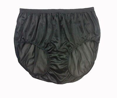 Erotic Underwear Nylon Briefs Panties Split Zipper Zip Panty Lace Knicker Pink