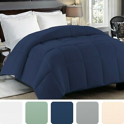 Premium Soft Brushed Down Alternative Comforter Duvet Insert Washable All Season