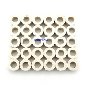 50PCS-white-height-5mm-Cushion-Ring-fit-for-Tajima-Feiya-and-Chinese-embroidery