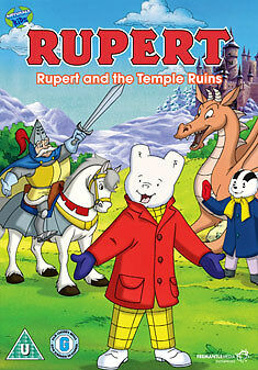 1 of 1 - Rupert - Rupert And The Temple Ruins (DVD, 2009, Carry Case)
