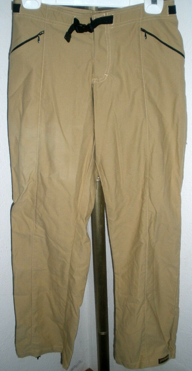 AWESOME Women's PrAna Stretchy Hiking Pants Interior Elastic Belt Size Small