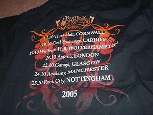 BNWOT-BULLET-FOR-MY-VALENTINE-THE-POISON-T-SHIRT-AGE-7-8-128CM-2005-TOUR