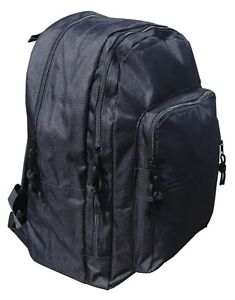 Black Day Pack 25L - Rucksack Backpack Bag School Hiking Camping ... 4d2364dd10fbc