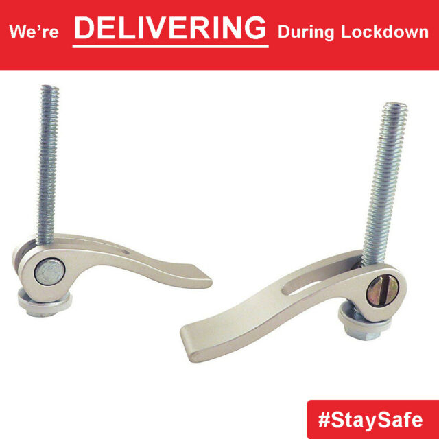 Cam Action Hold Down Clamp for fast release and lock for workpiece 1 pair