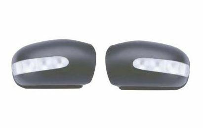 Mercedes C Class W203 2000-2004 Black Door Wing Mirror Cover O//S Drivers Right
