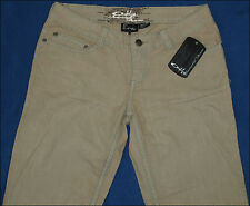 """BNWT WOMENS AUTHENTIC OAKLEY STRETCH JEANS UK6 L32"""" NEW ROCK FADER"""