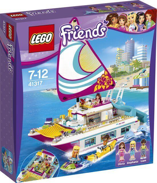 Brand New Sealed Lego Friends Sunshine Catamaran 41317