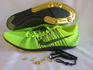 innovative design 2228a 1cbb9 Image is loading Nike-Zoom-Matumbo-Distance-Track-XC-Shoes-Yellow-