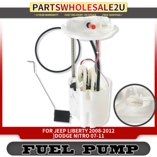 Fuel Pump With Sending Unit for Jeep Liberty 2008-2012 3.7L Dodge Nitro 2007-11