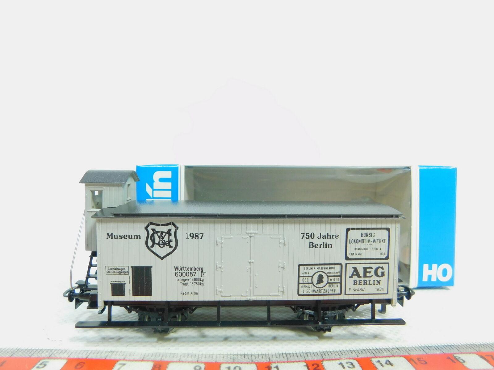 BP53-0,5  Märklin H0 AC Güterwagen Museumswagen 1987 K.W.St.E. NEUW + OVP