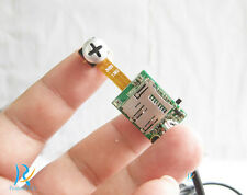 New mini screw DIY hidden nanny micro smallest pinhole spy camera DVR recorder