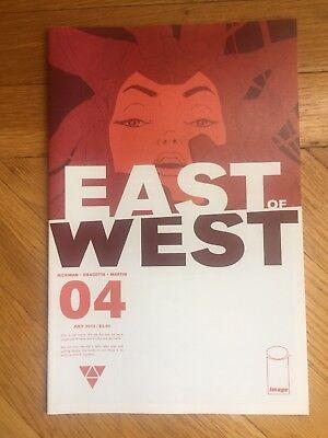 Image Comic EAST OF WEST #4 Jonathan Hickman Nick Dragotta July 2013 1st print