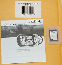 NEW Magellan RoadMate GPS 300 300R Map Update One SD Card - CANADA Full Coverage