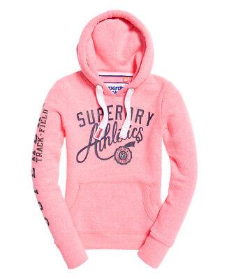Womens Superdry Track /& Field Hoodie sweatshirt hoody
