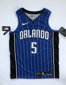 new arrivals 21765 b7474 Details about Mohamed Mo Bamba Orlando Magic Nike Icon Edition Blue  Swingman Jersey Medium