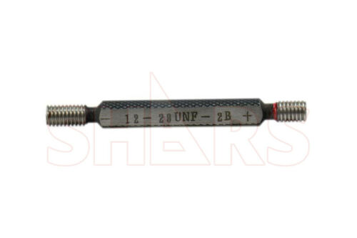 SHARS 12-28F Thread Plug Gage GO and NO GO Class 2B NEW