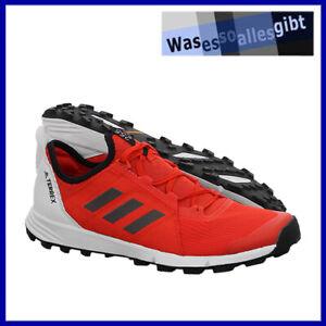 SCHNAPPCHEN-adidas-Terrex-Agravic-Speed-rot-weiss-Gr-43-1-3-R-3912