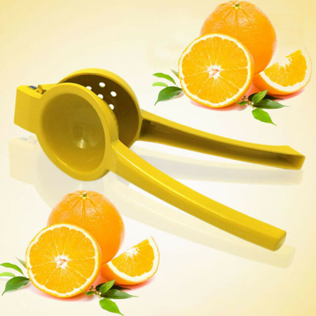 Stainless Fruit Juicer Lemon Lime Orange Squeezer Manual Hand Press Bar Tool NEW