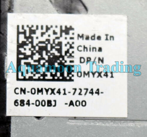MYX41 OEM Dell Alienware 17 R2 R3 Right Side GPU Fan DC28000FFF0 DFS200805000T