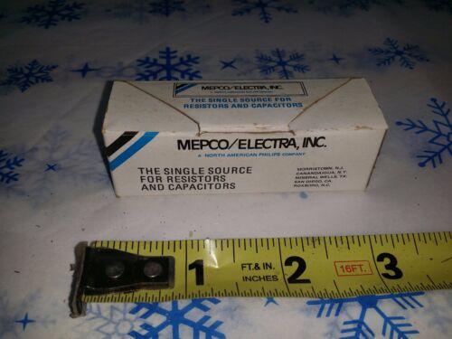 100 MEPCO Carbon Comp Resistors 1.5 Ohm 1//4W 5/% R7982