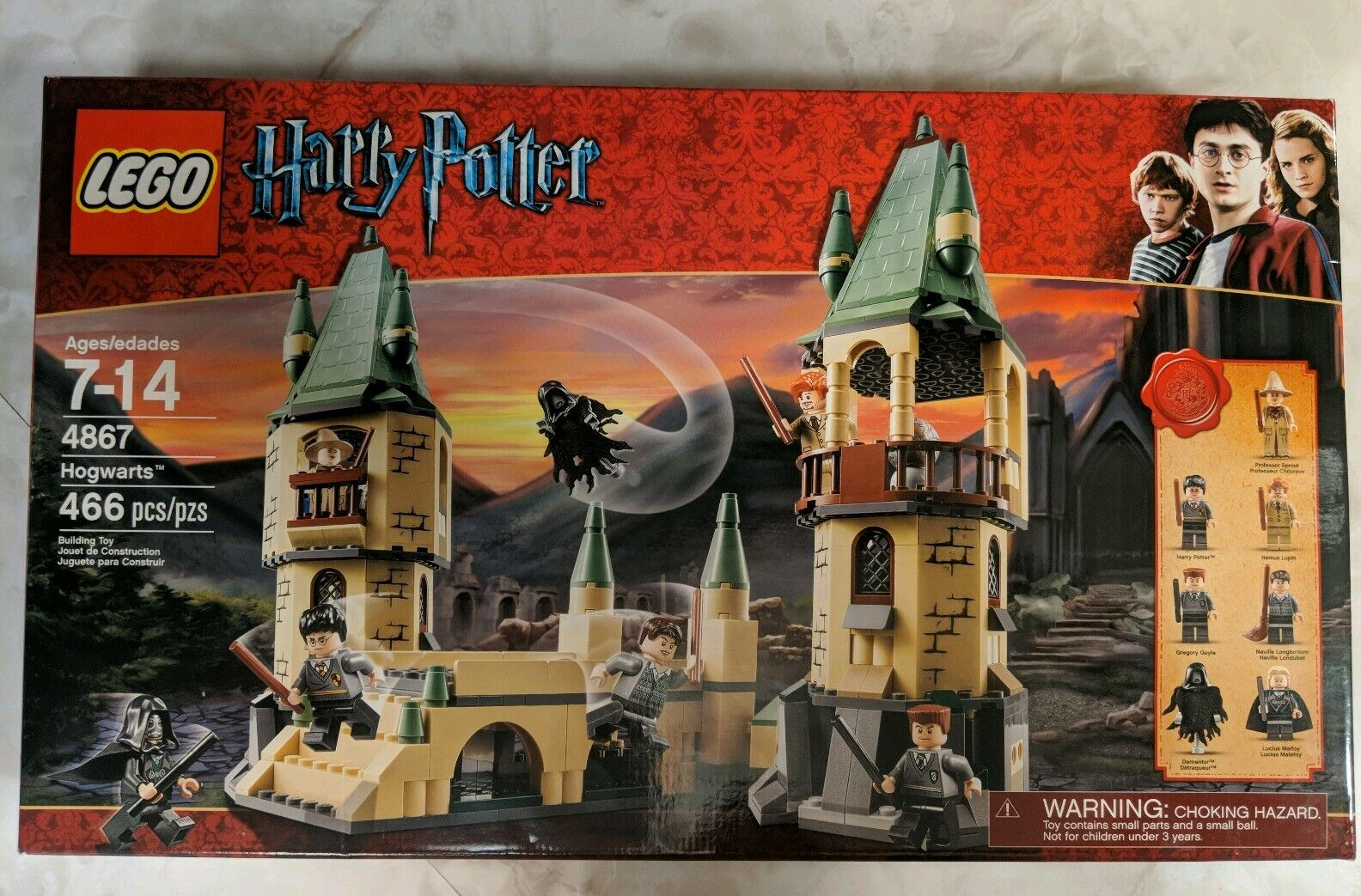 Lego Harry Potter 4867 Hogwarts Castle Retirement Factory Selling New Building Juguetes