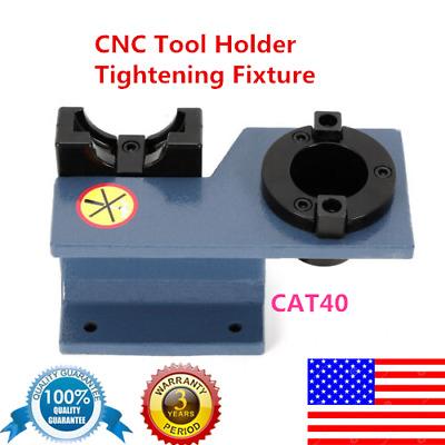 CAT 40 BT Tool Holder Tightening Fixture Clamp Vise Bench Mount Low Cost billet
