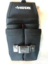 HUSKY Utility Pouch Poly Fiber Handy Tool Organizer Holster Bag 7 Pocket