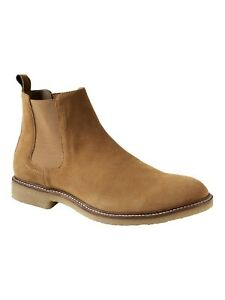 Banana-Republic-Men-039-s-Hemsley-tan-Italian-Suede-Chelsea-Boot-sz-9-5US-RRP-280