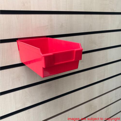 NUOVO Heavy Duty Media Grandezza Scatola Di Immagazzinaggio slatbox shelfbox DOGATO Display