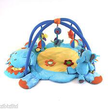 Baby Musical Play Mat *FREE* Elephant Soft Toy - Premium Quality Unisex PlayMat