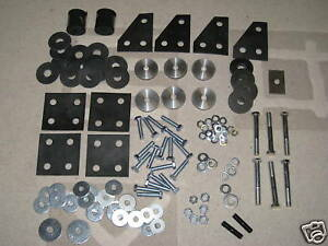TRIUMPH-TR4A-TR5-TR250-TR6-BODY-TO-CHASSIS-MOUNTING-KIT
