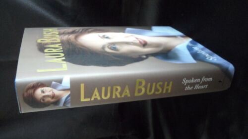 Laura Bush Signed Spoken From The Heart Book Autographed PSA Authenticated