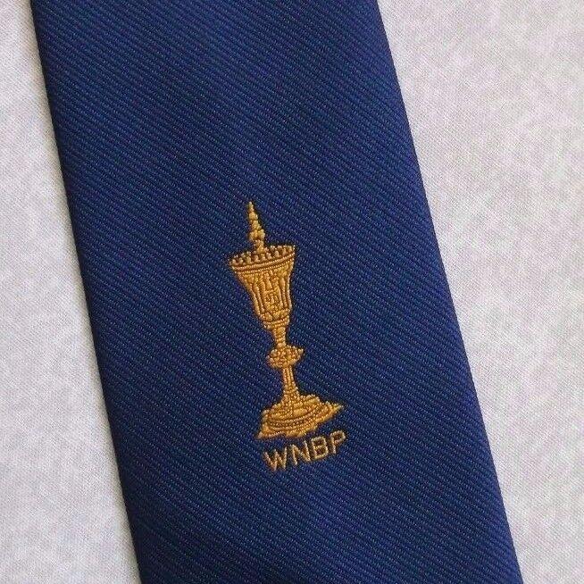 Vintage Tie MENS Necktie Crested Club Association Society WNBP