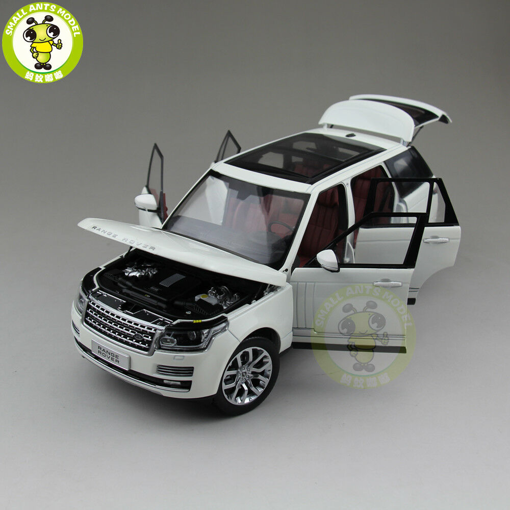 1/18 Land Rover Range Range Range Rover SUV WELLY GTAUTOS Diecast SUV CAR MODEL TOYS bianca b0900b